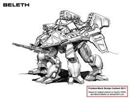 Beleth Mech Kitbash by Walter-NEST