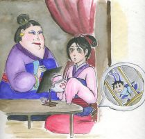 CHA-llenge Entry - Tea with the Matchmaker by livemylex
