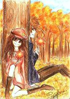 .: Autumn Lovers :. by Kaionalpaca