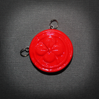 LoZ - Kinstone BFF pendants - Red Quarter by SuperSiriusXIII