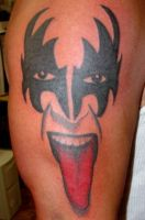 KISS Tattoo by Mr-Taboo