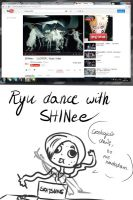 TRY DANCE WITH SHINee - FAIL (Sketch Comic) by Kukenn