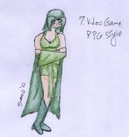 7. Video Game, RPG Style by Maracate