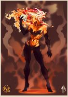 Dark Phoenix by MaximoPark