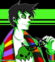 Homestuck - Jake English by Niconekoness