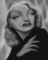 marlene dietrich caricature by jonesmac2006