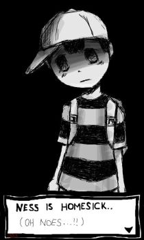 NESS IS HOMESICK by 333San