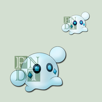 Fakemon SNOBLE by psychonyxdorotheos