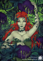 Poison Ivy - Deadly Nightshade by Blue--Rosa