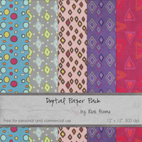 FREE Paper by Rene Blooms by SunnyFunLane