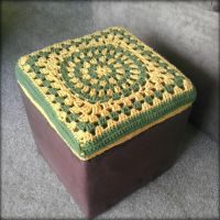 First attempt at making an Ottoman Cover by Chudames