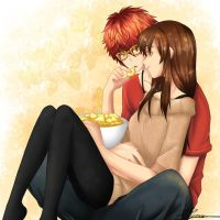 Sweet time~ Mystic Messenger by Meilyna