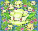 Pokedex Challenge Cottonee by Kikulina