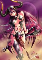Bloody Maiden by Dragolisco