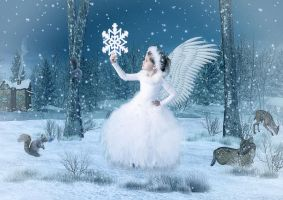Snow Angel by krissybdesigns