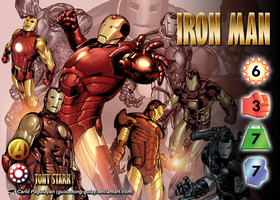 Iron Man (Tony Stark) Character by overpower-3rd