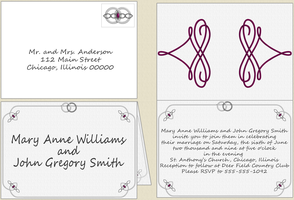 Charming Marquis Invitation by vhartley
