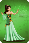 Extra Color - Glamorous Fashion Mulan by selinmarsou