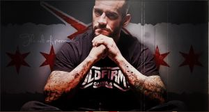 CM Punk - Signature by isharkfeli