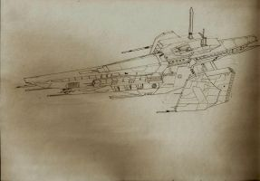 Starship Concept by Noble--6