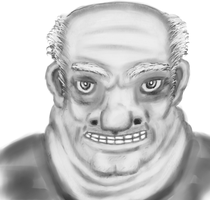 Creepy Old Guy by Hectichermit
