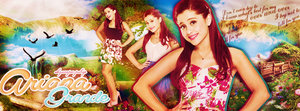 Ariana Grande Facebook Cover Photo by Danger-Sugar