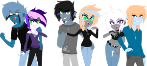 The Devious Six by BIueMoon