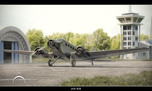 Ju-52 by IgnisFerroque