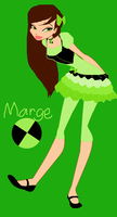My Ben 10 OC Margrette (Marge) Clarence Tennyson by HatterM97