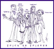 Thick As Thieves by SankofaRida