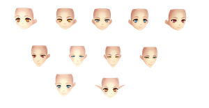 [MMD] Ar No Surge Face Pack -DL- by DeidaraChanHeart