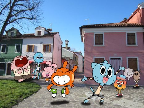 Gumball by Brujamelon
