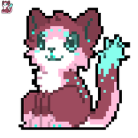 Pixel kitty for sale! by Pand-ASS