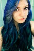 Purple and Blue Curls by lizzys-photos