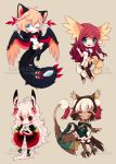 Chibi Batch 9 by Sueweetie