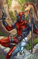 Deadpool of Naboo by SachaLefebvre