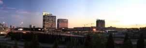 Atlanta Skyline Panoramic by fusk4