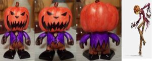 Pumpkin King Jack Colorblank by TMNT1984