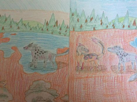 Through The Marshes ~ Adventure Art Part 2 by EnderDrawsEverything