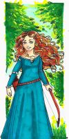 Merida, Draw again! by alesan94