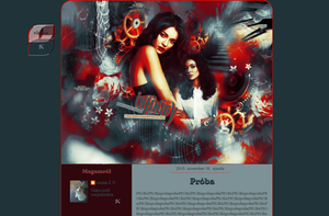 Template 1691 by Leona by LeonaGraphics
