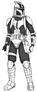 Early Scout Trooper Concept by VengefulJan