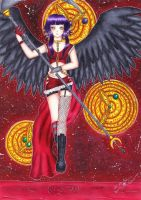 Angel of destruction by xXDarkSanctuaryXx