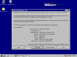 Win98se on Compaq LTE 5300 by valleyofearwigs