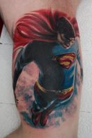 superman returns tattoo by graynd
