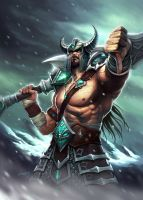 Tryndamere by CYRUS-C