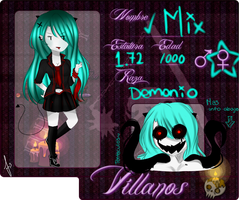 TLOoo-Ficha Villanos- Mix by LittlePanda3