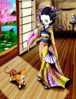 Geisha by DreamOfFire