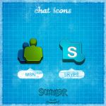 2 Chat Icons by Schulerr