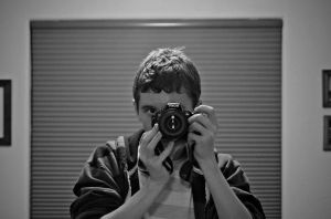 Me with My Camera by TheBirdsFeathers